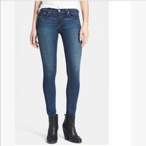 Rag & Bone skinny stretch mid rise jeans dark wash